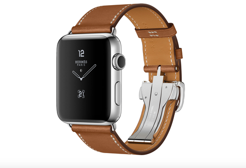 Watch, Analog watch, Watch accessory, Tan, Fashion accessory, Brown, Strap, Buckle, Material property, Beige,