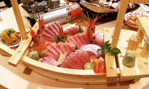 Dish, Food, Cuisine, Ingredient, Meat, Japanese cuisine, Delicacy, Sakana, Cold cut, Charcuterie,