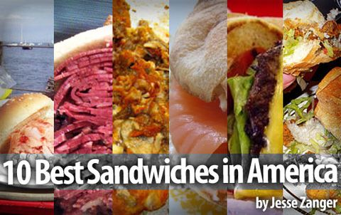 The 10 Best Sandwiches In America