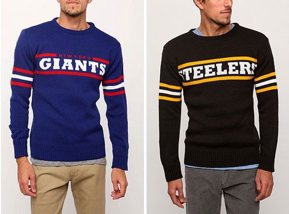 Retro NFL Sweaters by Junk Food