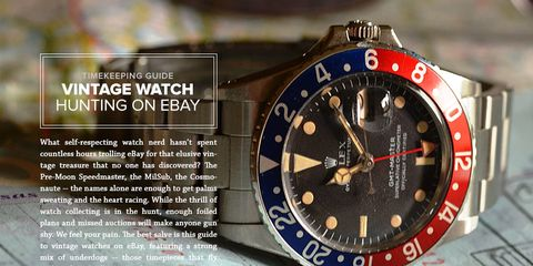 Complete Guide To Buying Vintage Watches On Ebay Gear Patrol