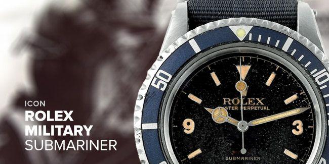 Icon: Rolex Military Submariner
