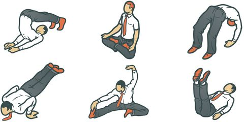 5 Yoga Stretches You Can Do At Your Desk Gear Patrol