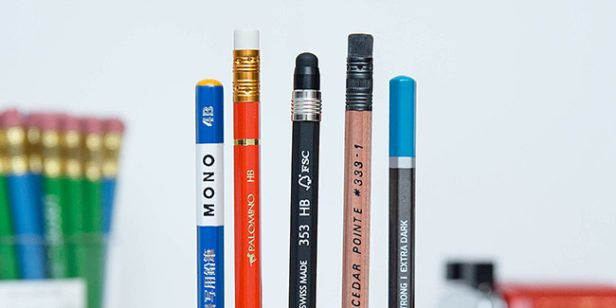 5 Great Pencils, Picked by a Fanatic