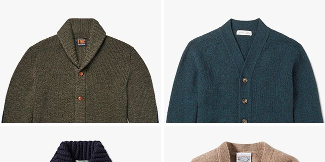 The 12 Best Cardigans for Men