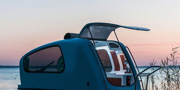Sealander's Little $22,000 Camper Is Also a Boat