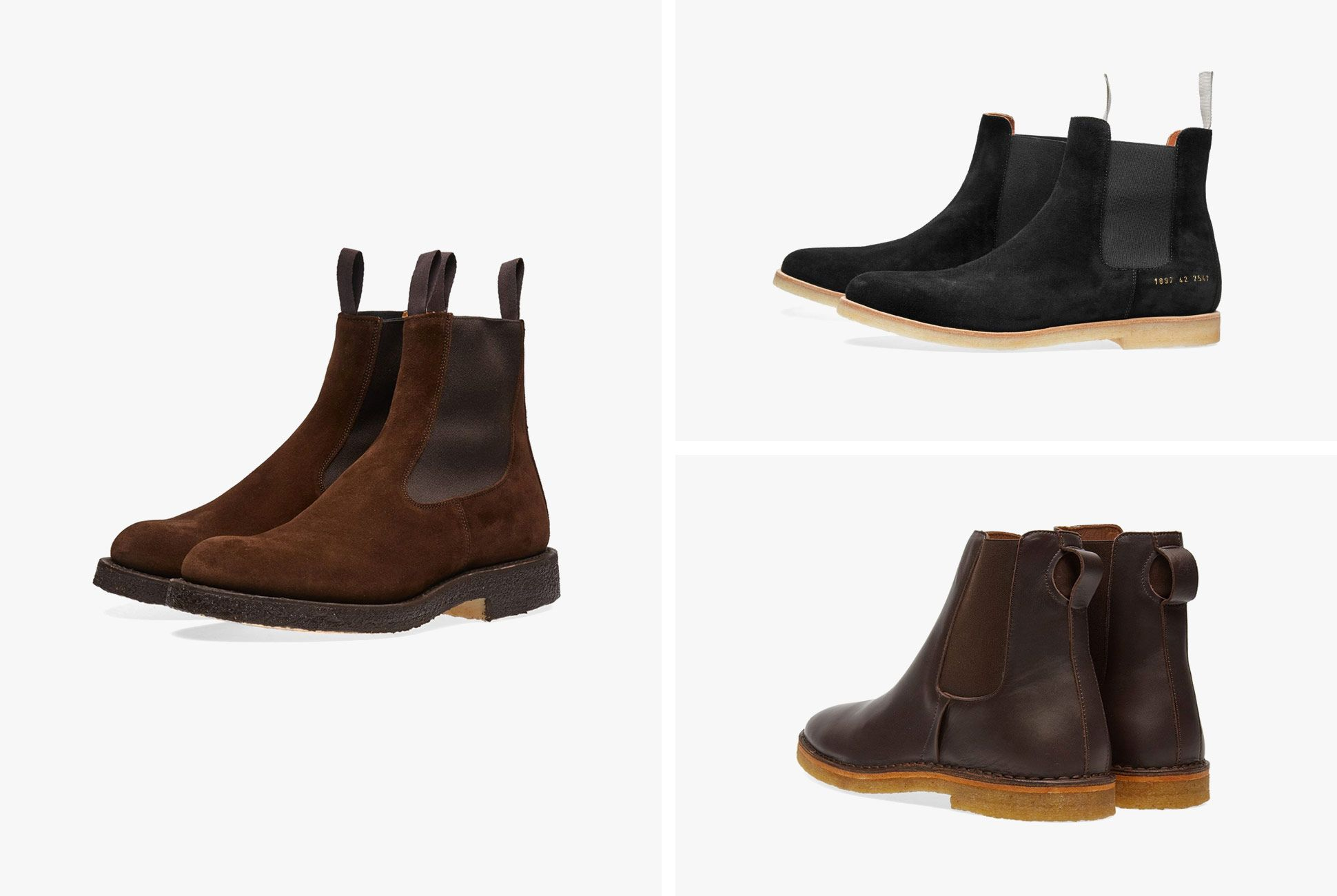 Three Great Chelsea Boots for Fall, Now