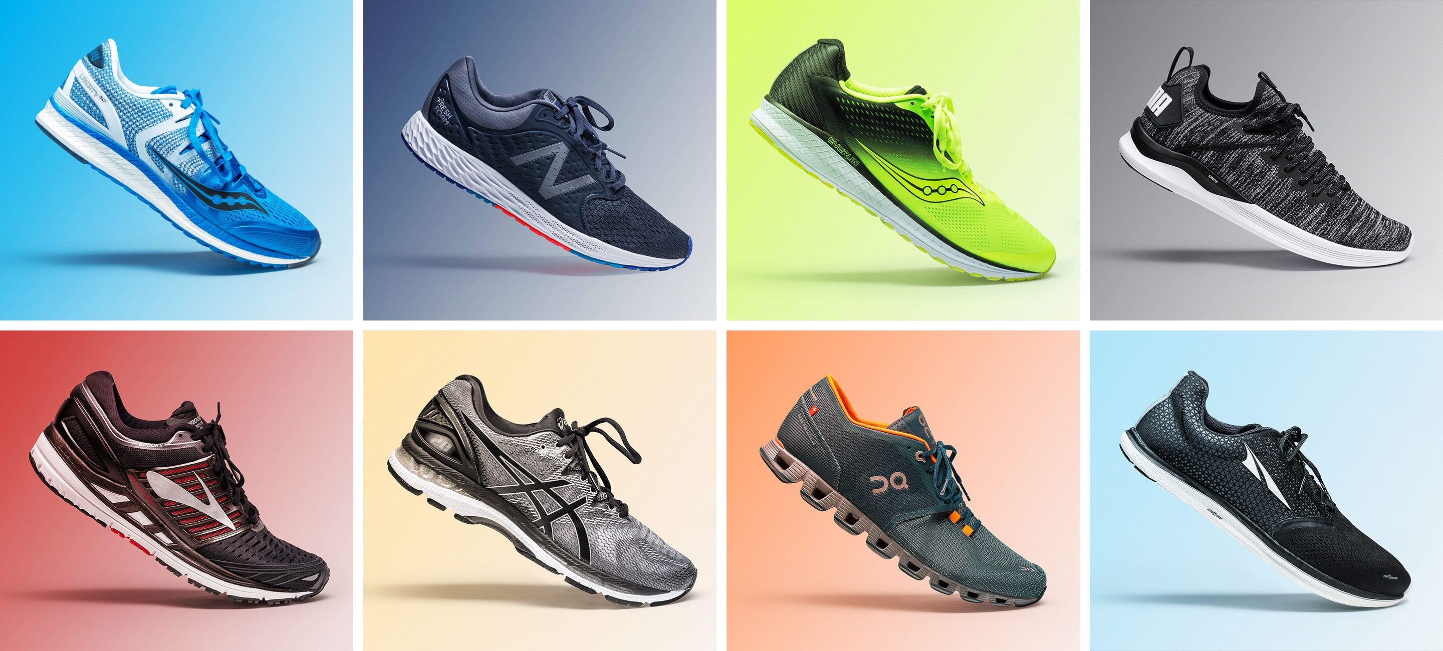 top asics running shoes 2018