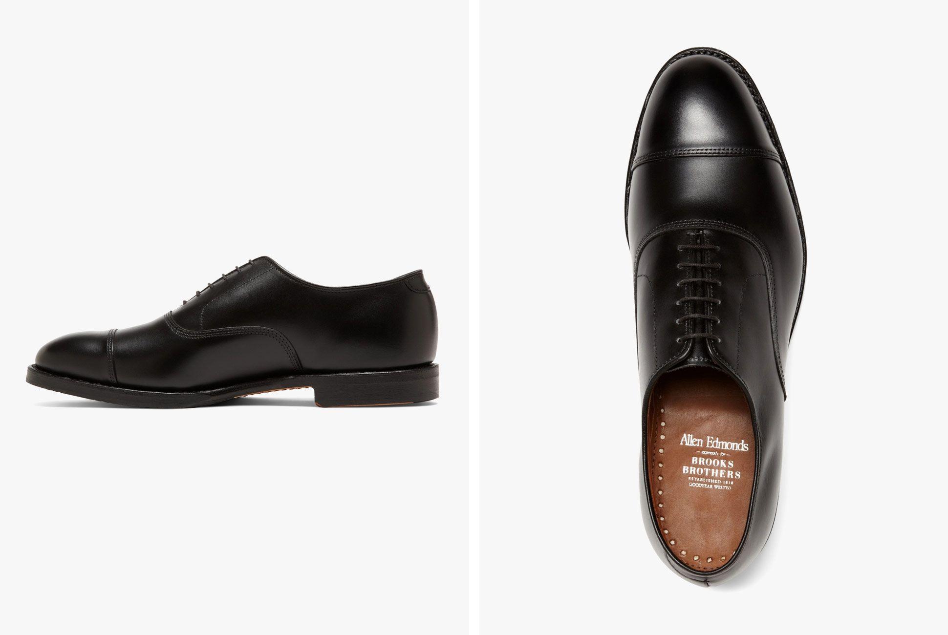 Gold Standard of Black Dress Shoes