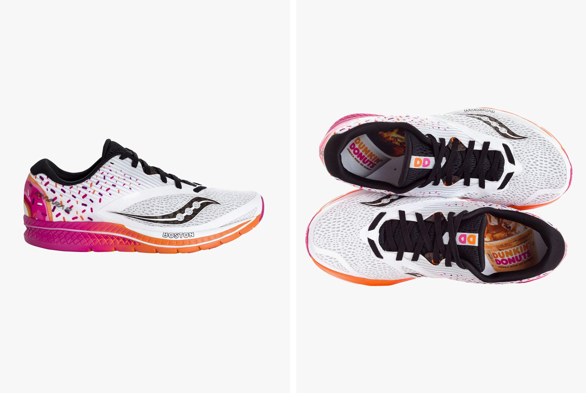 Saucony and Dunkin Donuts Team Up for