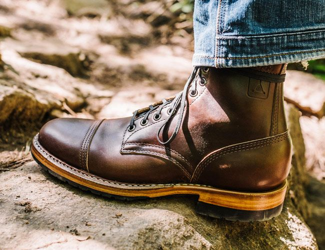 These Military-Inspired Leather Boots