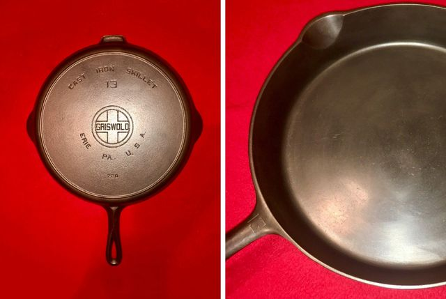 griswold cast iron no 13 skillet gear patrol lead full