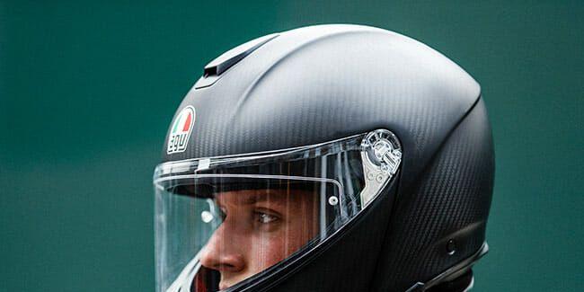 Agc Sportmodular Carbon Helmet Review A Class Of Its Own Bull Gear Patrol