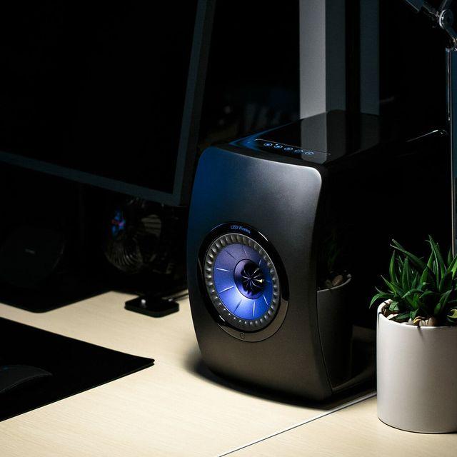kef ls50 wireless speakers gear patrol lead full