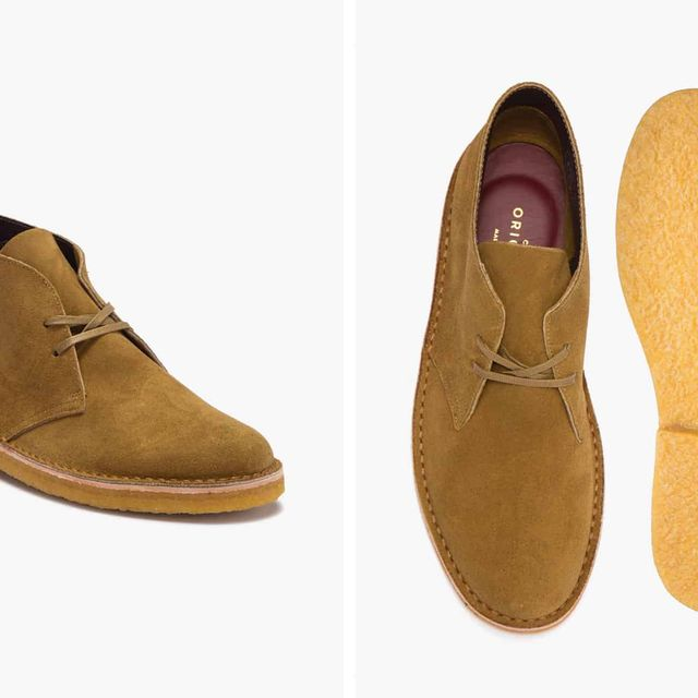puesto aceptable medida  Get the Italian-Made Version Of Clarks Desert Boots for Just $80