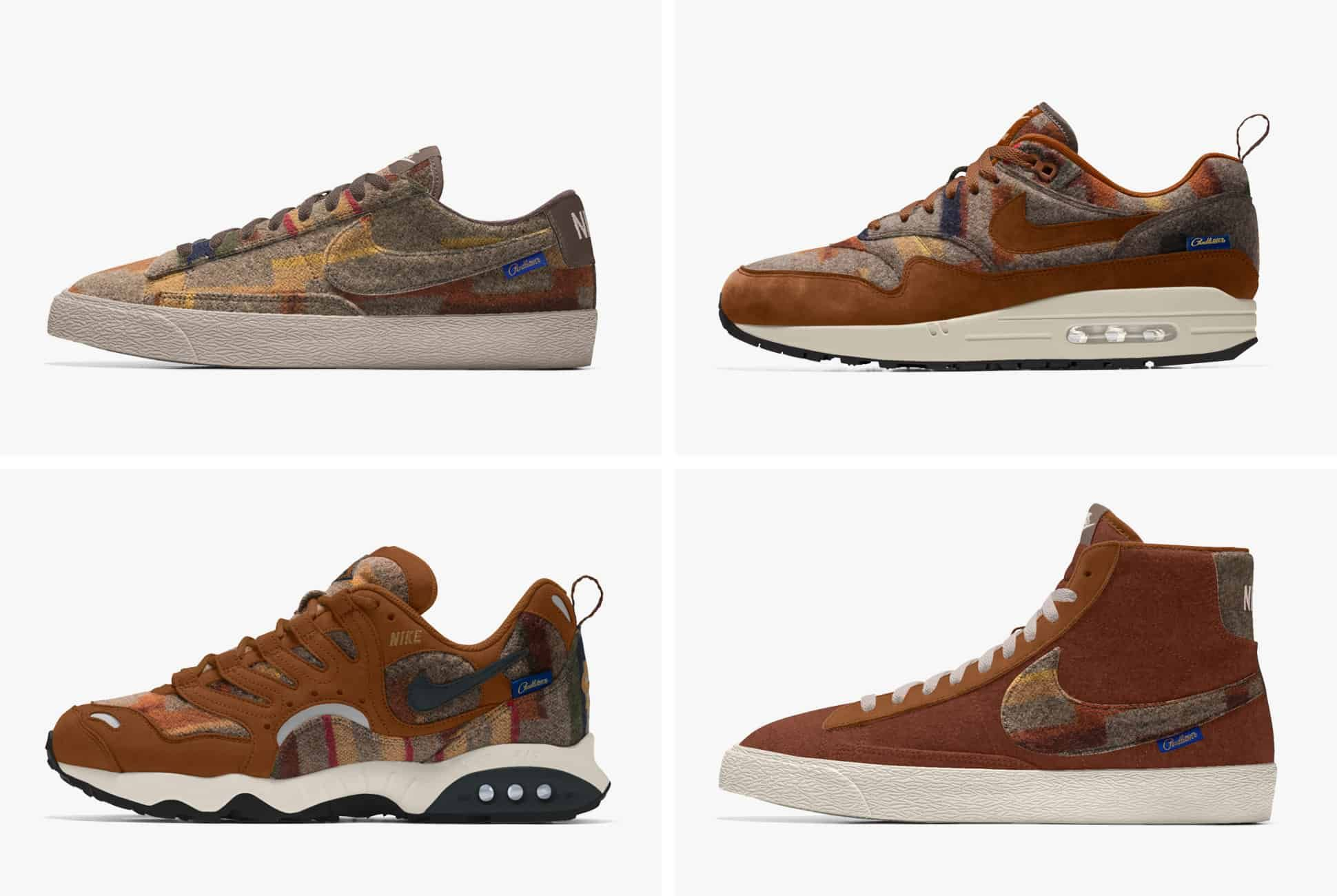 These New Kicks from Pendleton and Nike