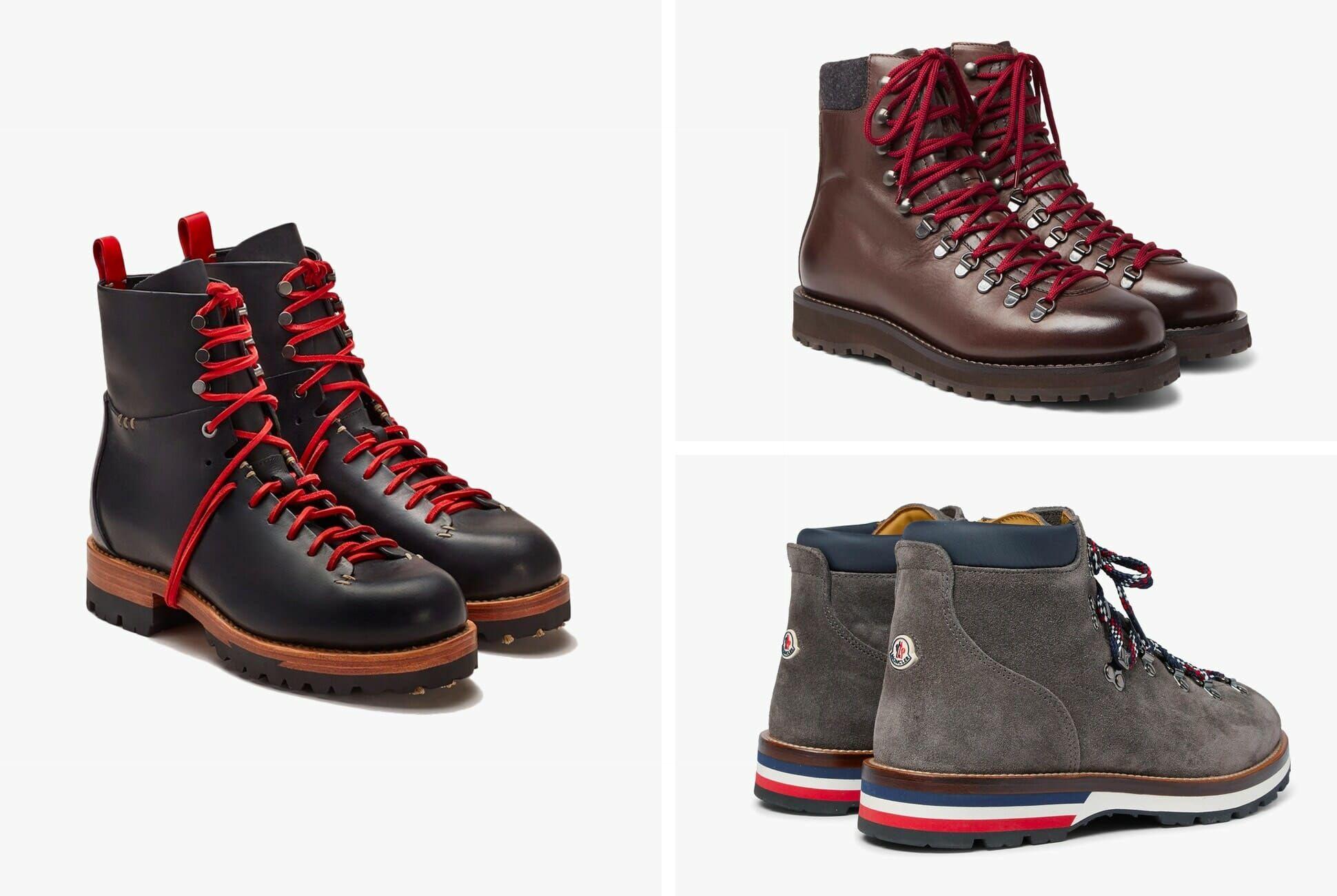 mens stylish hiking boots