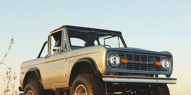You Can Buy a Perfect Classic Bronco and Ford Is Totally Cool With It