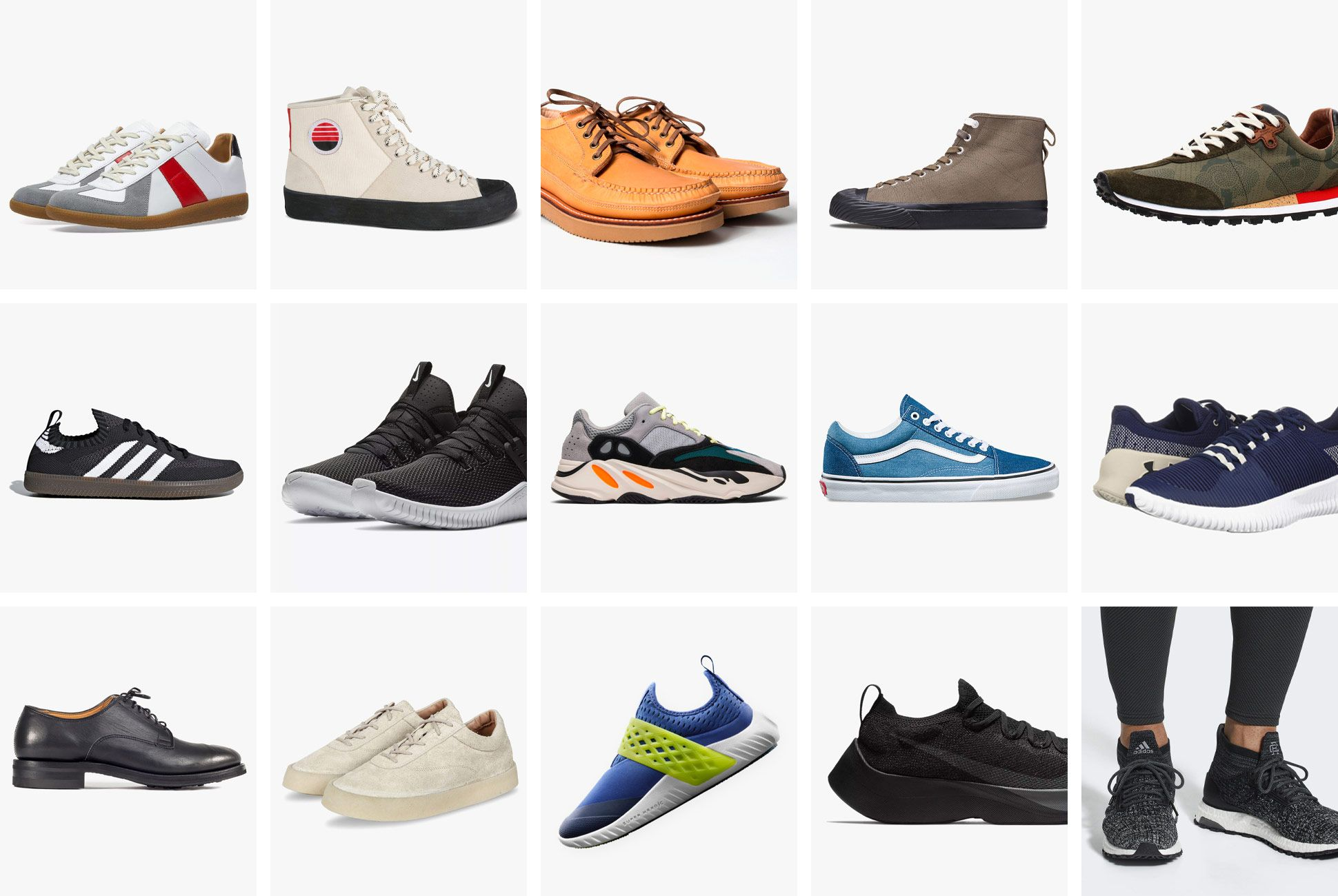 The Top Sneakers and Shoes of 2018