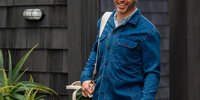 Now's the Time to Save on Light Jackets for Spring