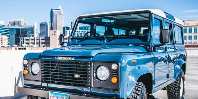 There Is No Substitute for an Old Land Rover Defender, and This Example Is Just the Right Amount of Classic