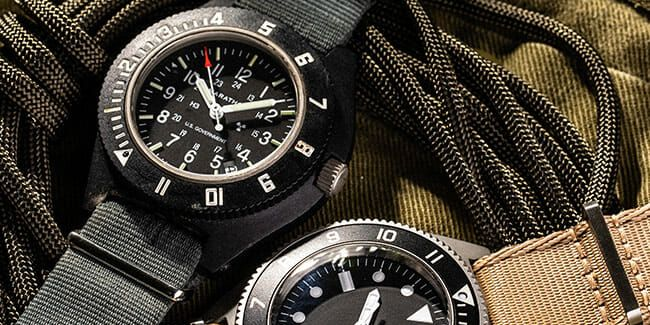 We Field-Tested Two Military Watches in the Army and This is What We Found