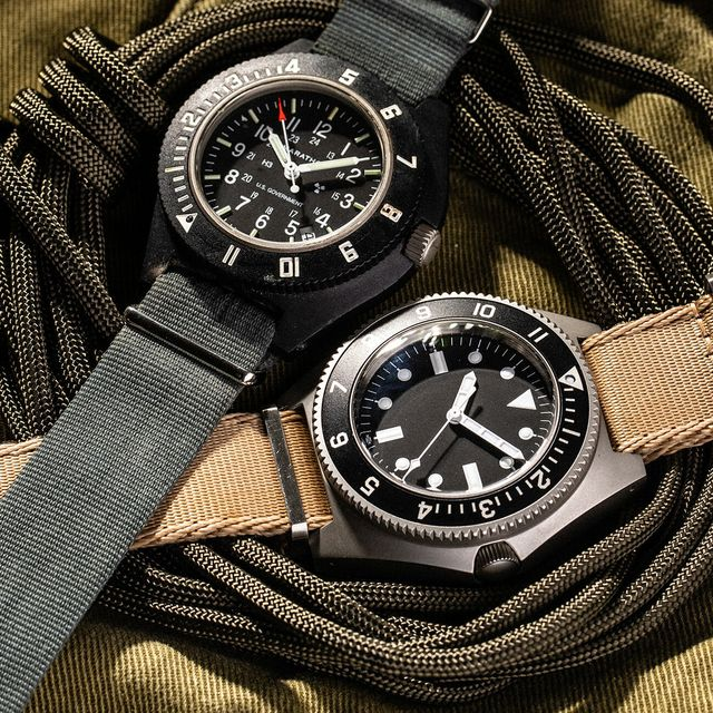 2 military watches in the field gear patrol lead full