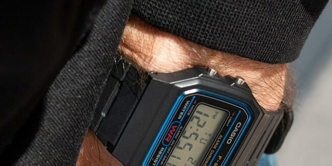 The Classic Casio F-91W Is the Cheapest Watch Worth Buying