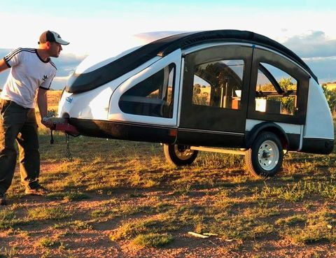 earth traveler teardrop trailer t250lx t300 light camping camper