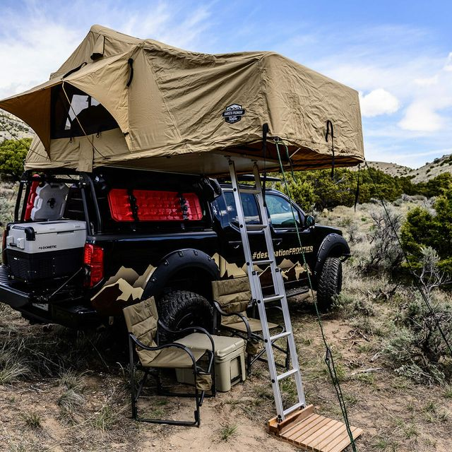 nissan destination frontier overlanding gear patrol