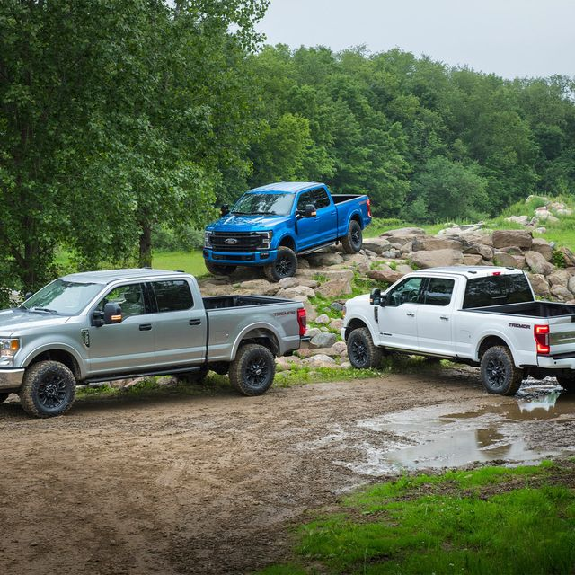 Ford Just Turned Its Mightiest Pickup Truck Into An Off Road Monster
