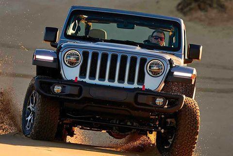 jeep wrangler on sand