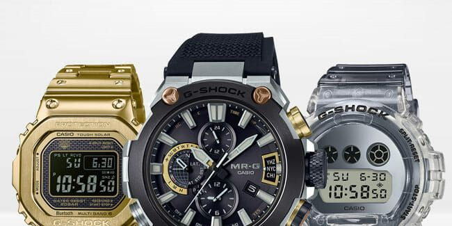 G Shock cover image