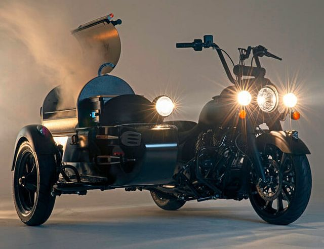 indian x traeger grill motorcycle gear patrol lead feature