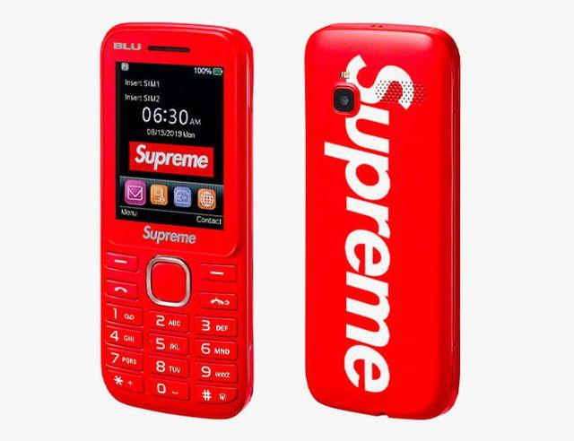 supreme burner phone gear patrol feature