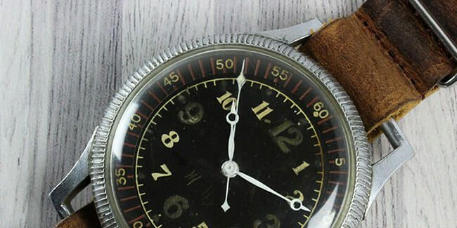 This Is the Seiko Watch Made for Japanese Pilots During WWII