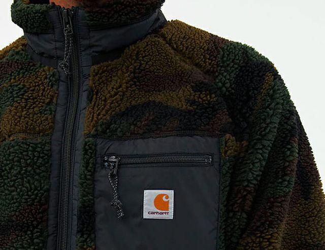 carhartt wip fleece gear patrol feature