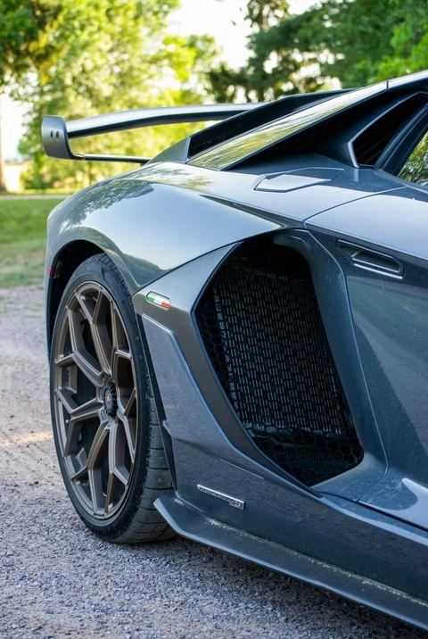 No Car Sparks Joy Like The Lamborghini Aventador Svj