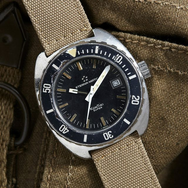 elite naval commandos wore this vintage military watch gear patrol lead full