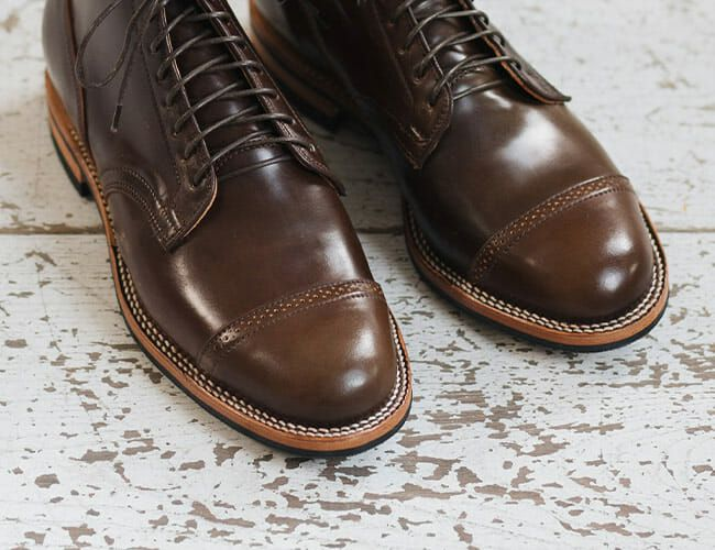 Shell Cordovan Leather Shoes Are