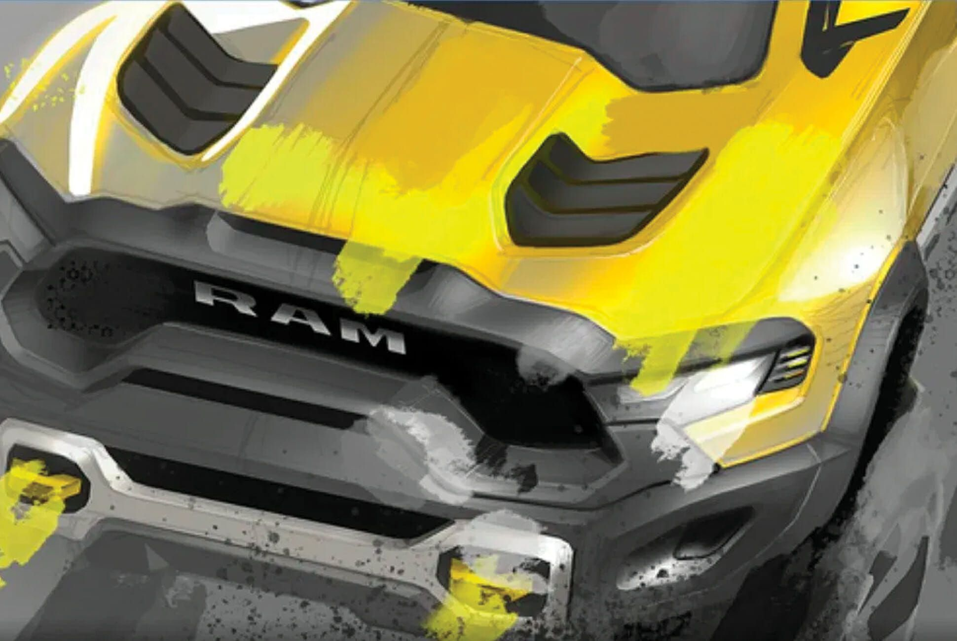 Ram S New Rebel Trx Looks Ready To Eat The Ford Raptor