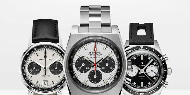 These 7 Chronographs Sport Our Favorite Colorway