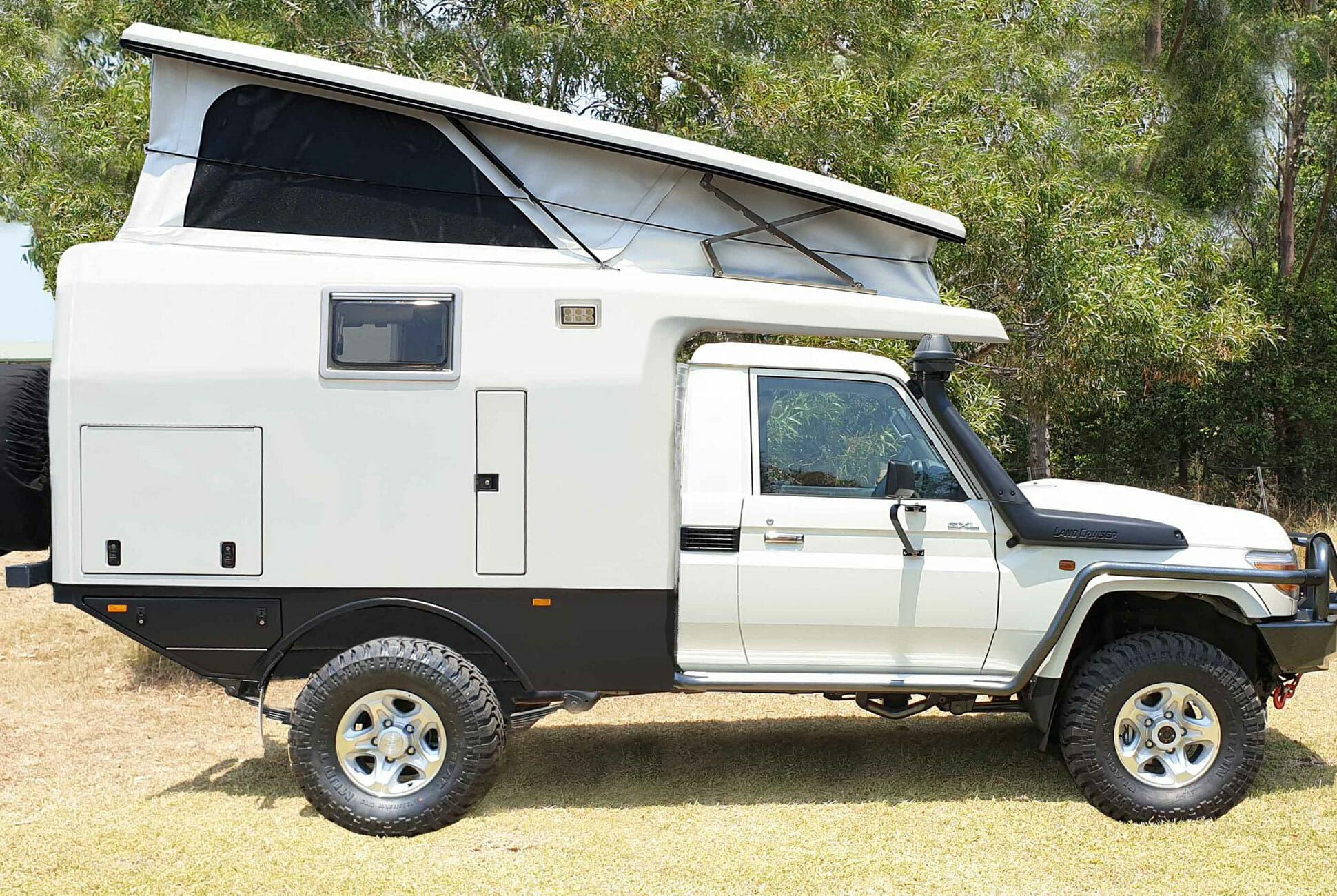 Meet the Perfect Toyota Land Cruiser Off-Road Camper • Gear
