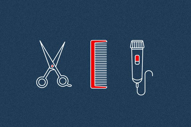 how to trim your hair without a barber gear patrol lead full