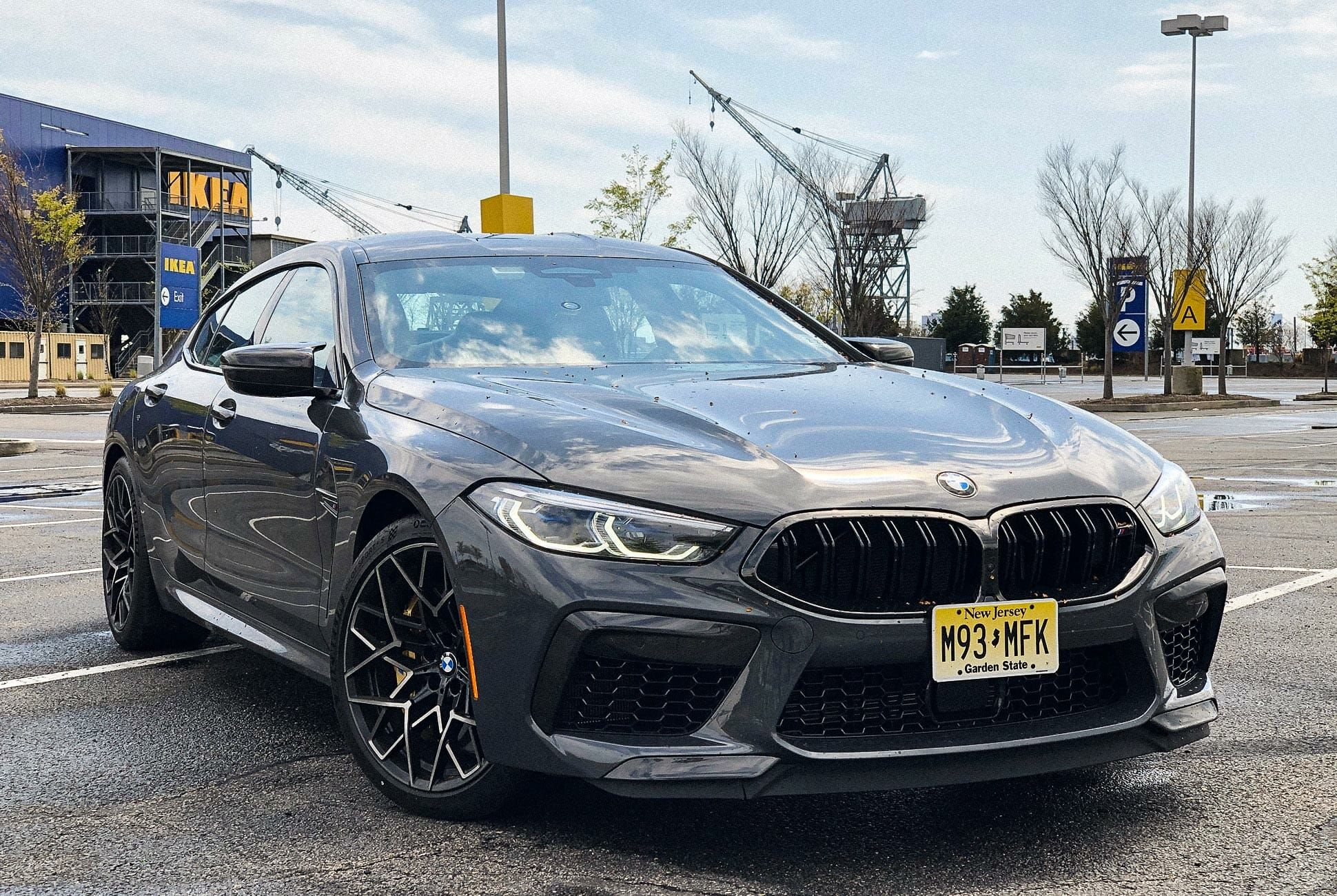 The 2020 Bmw M8 Competition Gran Coupe Is A Sexier M5 Bull Gear Patrol