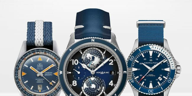 The Best Blue Dial Watches for Summer