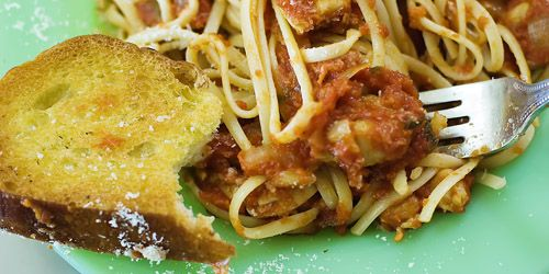 Linguine With Chicken Thighs