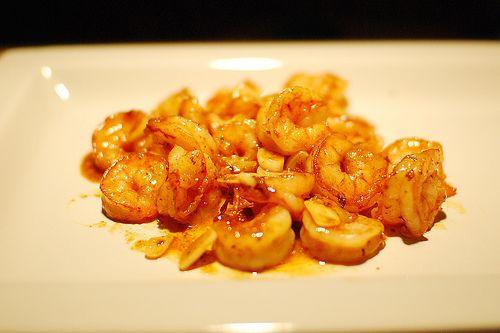 Spicy Orange Garlic Shrimp