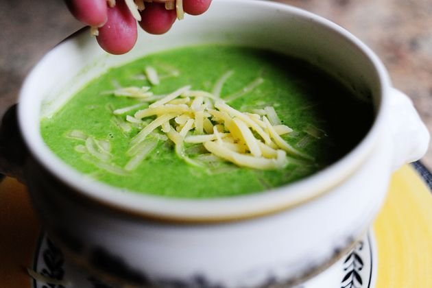 healthy soup recipes spinach soup
