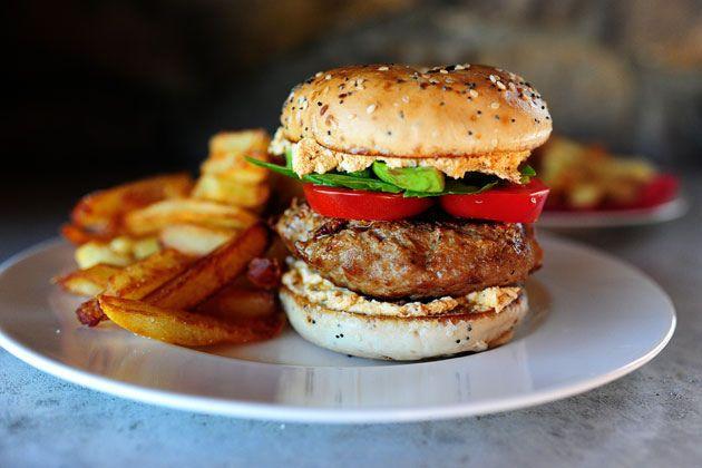 turkeybagelburger